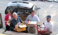 Joseph Sams School Donates Books